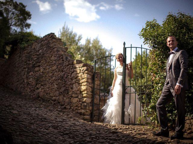 Le mariage de Romain et Mélanie à L'Ardoise, Gard 4