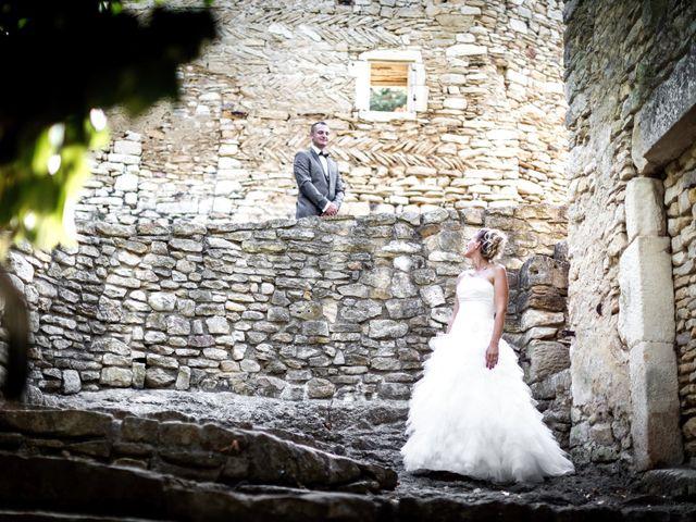 Le mariage de Romain et Mélanie à L'Ardoise, Gard 5