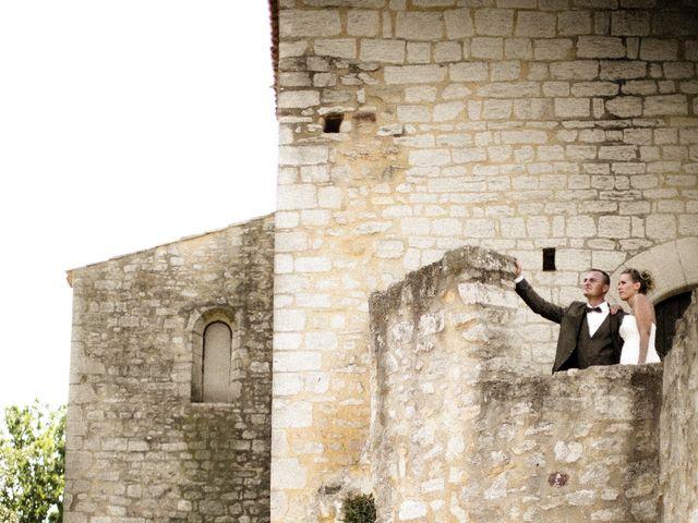 Le mariage de Romain et Mélanie à L'Ardoise, Gard 6