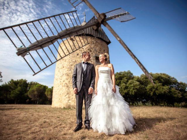 Le mariage de Romain et Mélanie à L'Ardoise, Gard 33