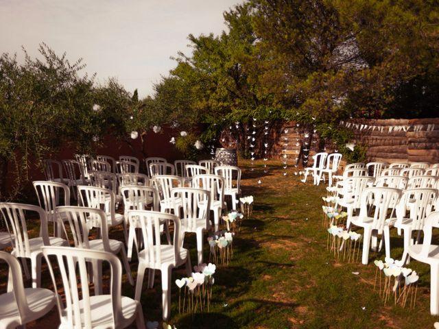 Le mariage de Romain et Mélanie à L'Ardoise, Gard 34