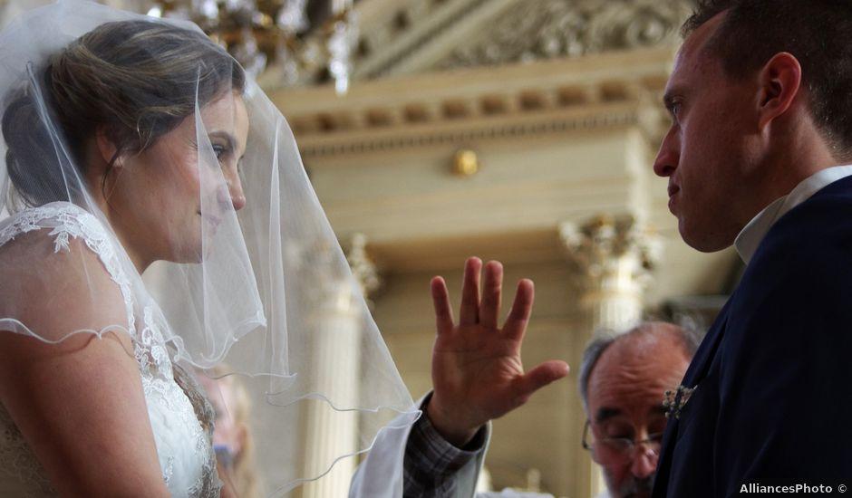Le mariage de Cédric et Marjorie à Saints, Seine-et-Marne