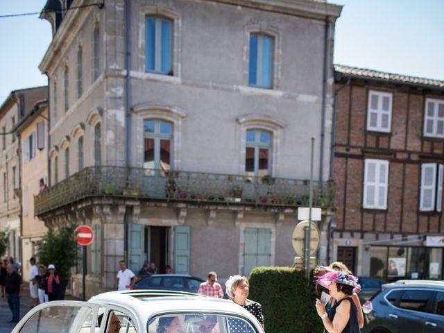 Le mariage de Antoine et Valentine à Lempaut, Tarn 14