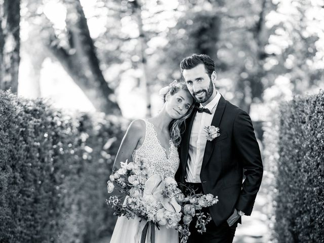 Le mariage de Hugo et Clarisse à Salignac-Eyvigues, Dordogne 21