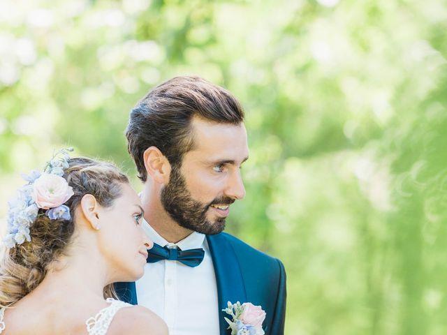 Le mariage de Hugo et Clarisse à Salignac-Eyvigues, Dordogne 23