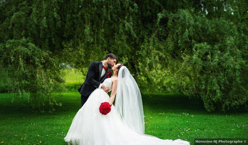 Le mariage de Franck et Sabrina à Vernon, Eure