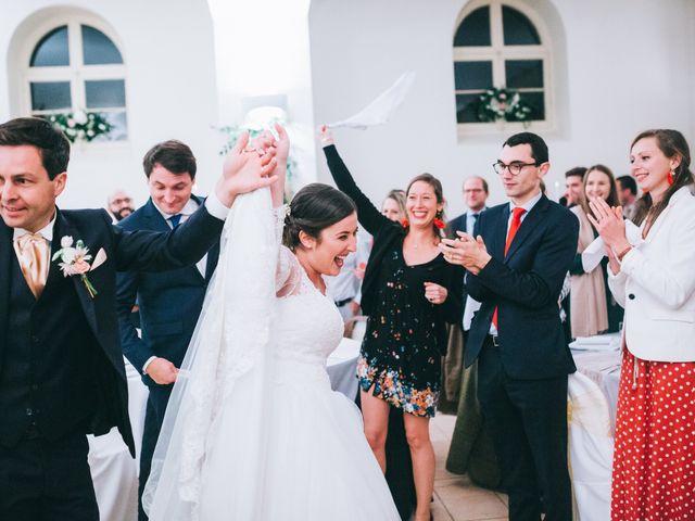 Le mariage de Valentin et Laura à Coudrecieux, Sarthe 7