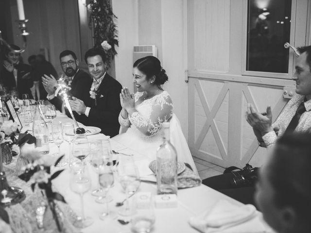 Le mariage de Valentin et Laura à Coudrecieux, Sarthe 8