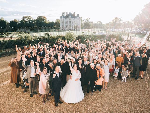 Le mariage de Valentin et Laura à Coudrecieux, Sarthe 10