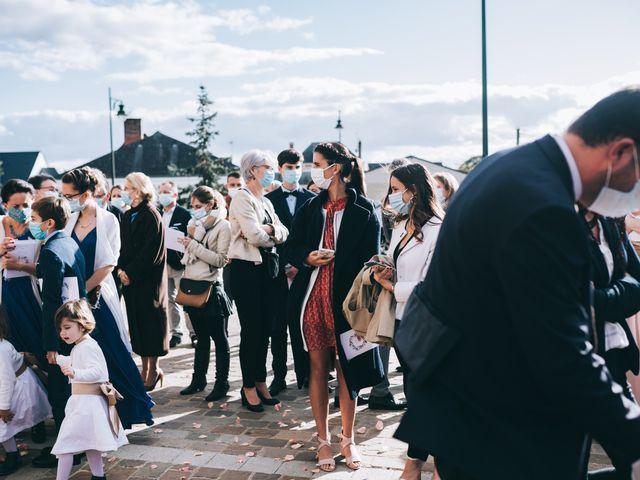 Le mariage de Valentin et Laura à Coudrecieux, Sarthe 17
