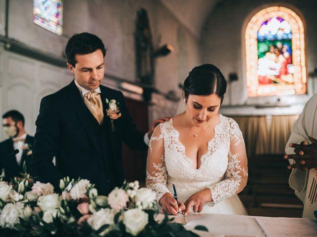 Le mariage de Valentin et Laura à Coudrecieux, Sarthe 21