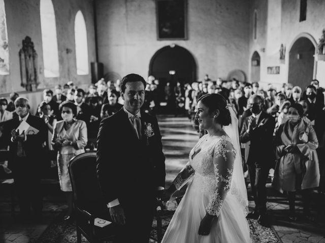Le mariage de Valentin et Laura à Coudrecieux, Sarthe 23