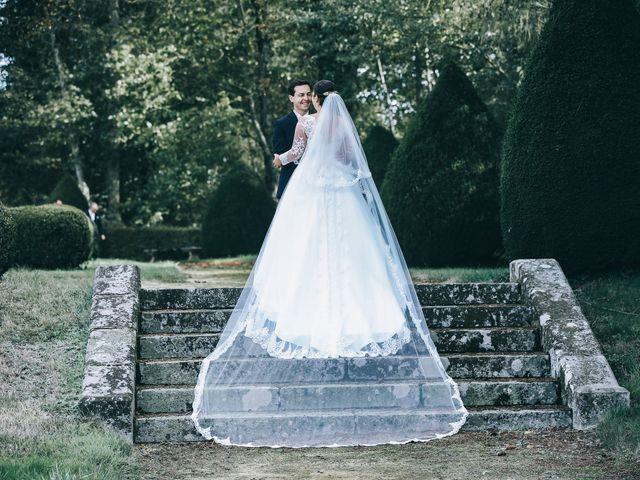 Le mariage de Valentin et Laura à Coudrecieux, Sarthe 36
