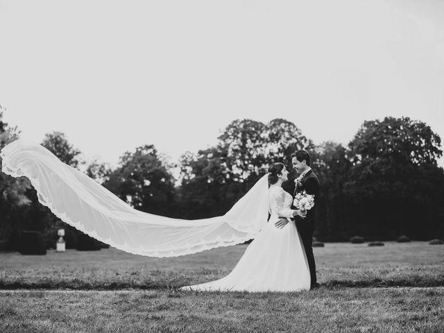 Le mariage de Valentin et Laura à Coudrecieux, Sarthe 43