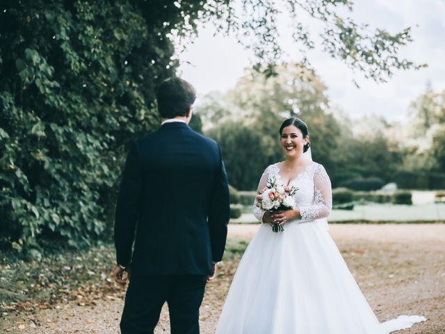Le mariage de Valentin et Laura à Coudrecieux, Sarthe 48