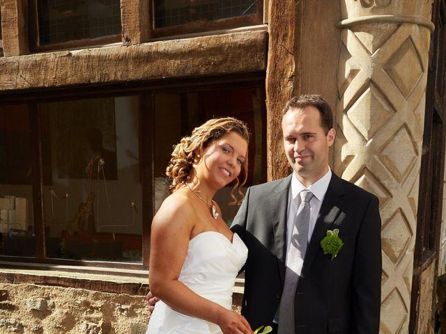 Le mariage de Albin et Marion à Trangé, Sarthe 3