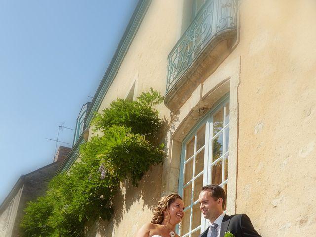 Le mariage de Albin et Marion à Trangé, Sarthe 4