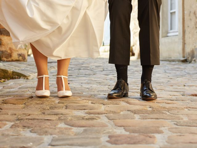 Le mariage de Albin et Marion à Trangé, Sarthe 1