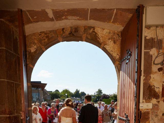 Le mariage de Albin et Marion à Trangé, Sarthe 10