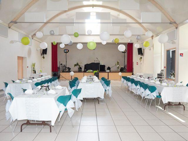 Le mariage de Albin et Marion à Trangé, Sarthe 18