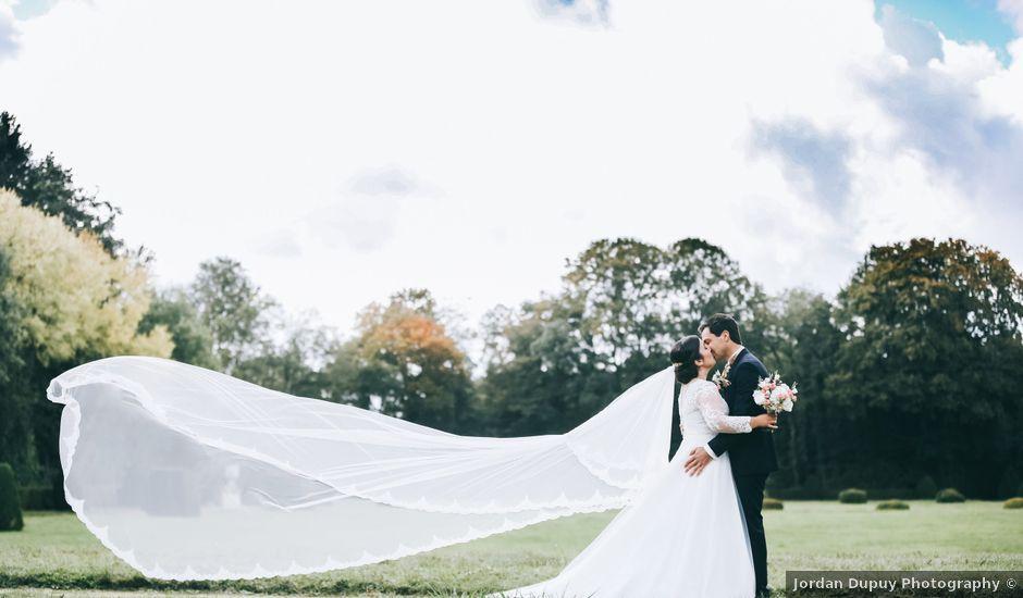 Le mariage de Valentin et Laura à Coudrecieux, Sarthe