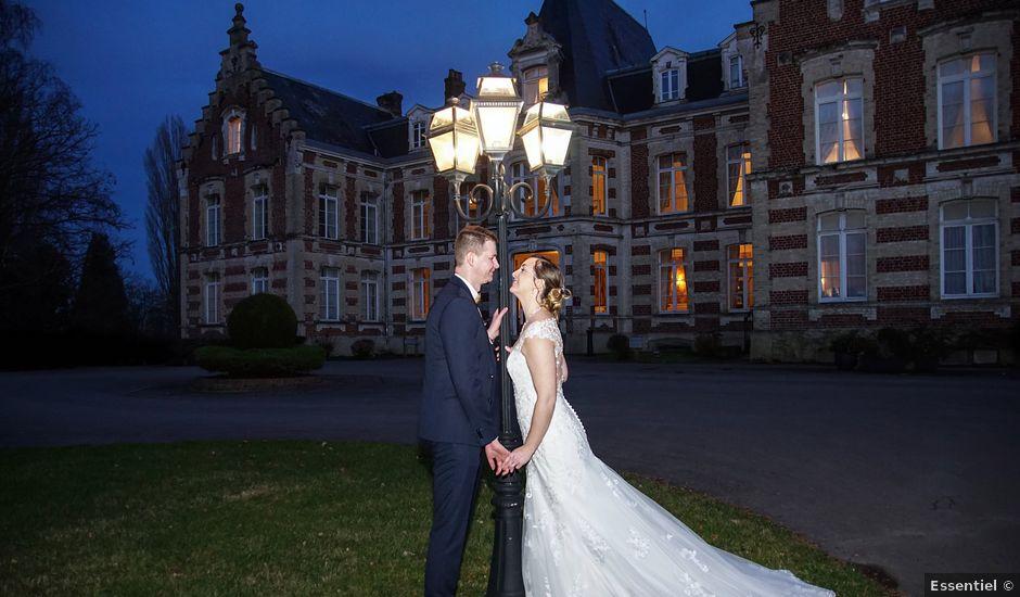 Le mariage de Julien et Amandine à Auchy-les-Mines, Pas-de-Calais