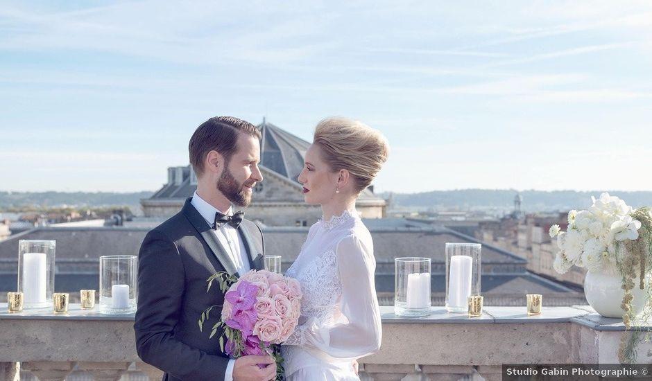 Le mariage de Harold et Hannah à Bordeaux, Gironde