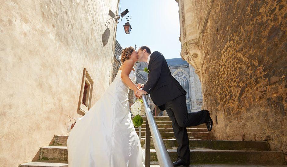 Le mariage de Albin et Marion à Trangé, Sarthe