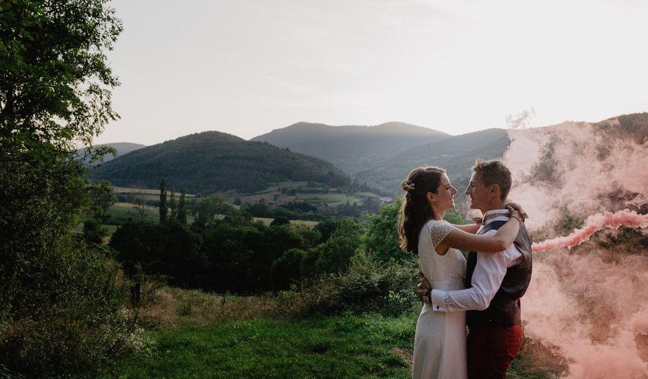 Le mariage de Mathieu et Chloé  à Satillieu, Ardèche