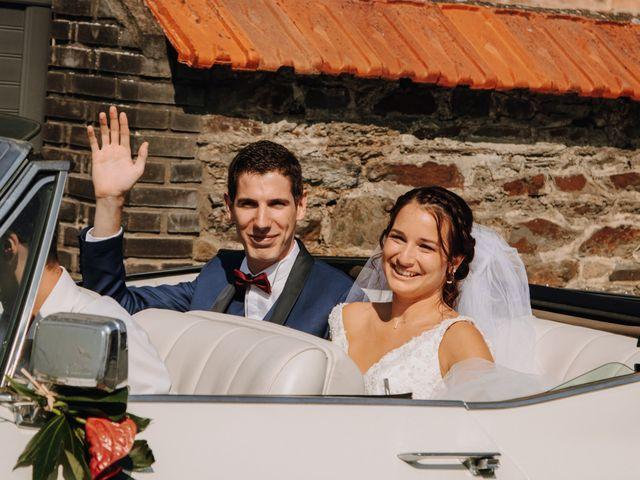 Le mariage de Benjamin et Corinna à Chauvigné, Ille et Vilaine 22