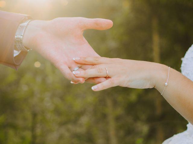 Le mariage de Benjamin et Corinna à Chauvigné, Ille et Vilaine 50
