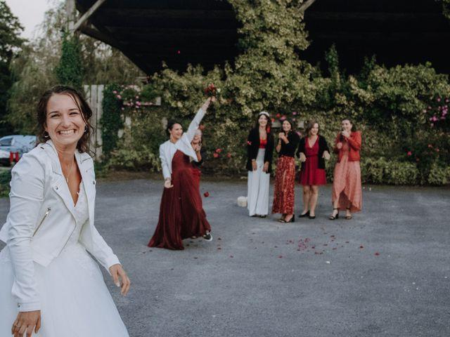 Le mariage de Benjamin et Corinna à Chauvigné, Ille et Vilaine 44