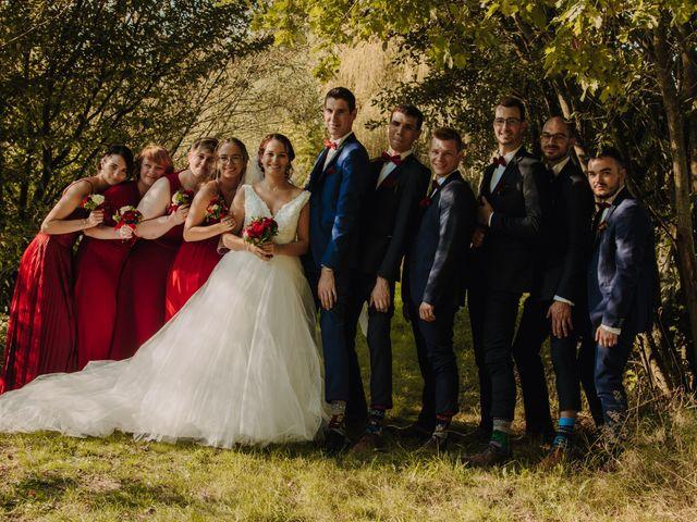 Le mariage de Benjamin et Corinna à Chauvigné, Ille et Vilaine 49