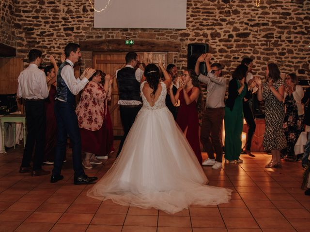 Le mariage de Benjamin et Corinna à Chauvigné, Ille et Vilaine 63