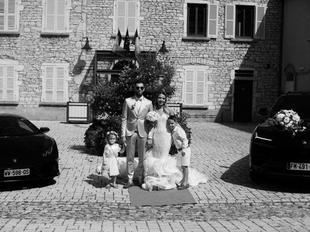 Le mariage de Alexandre et Amandine à Anse, Rhône 8
