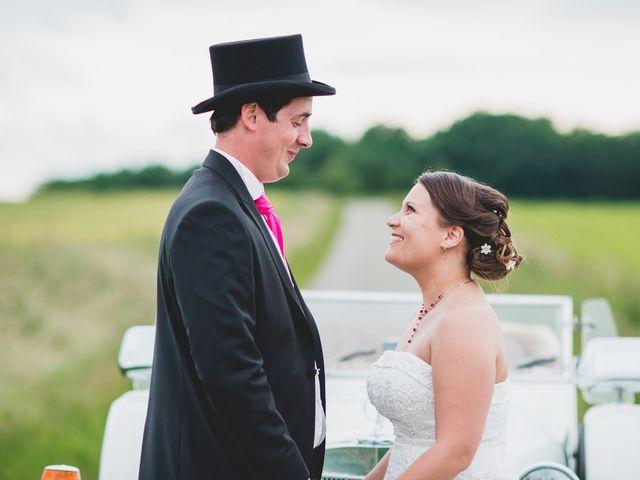 Le mariage de Romain et Stéphanie à Grand-Rozoy, Aisne 80