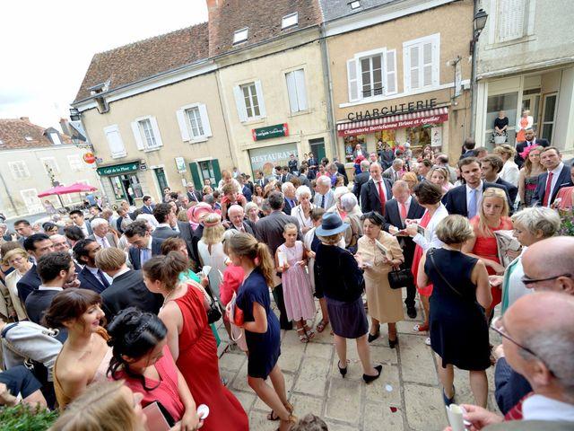 Le mariage de Jeff et Alexia à Neuvy-Saint-Sépulchre, Indre 25