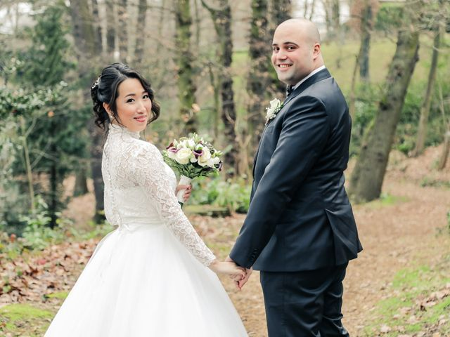 Le mariage de Farah et Taeko à Vaucresson, Hauts-de-Seine 9