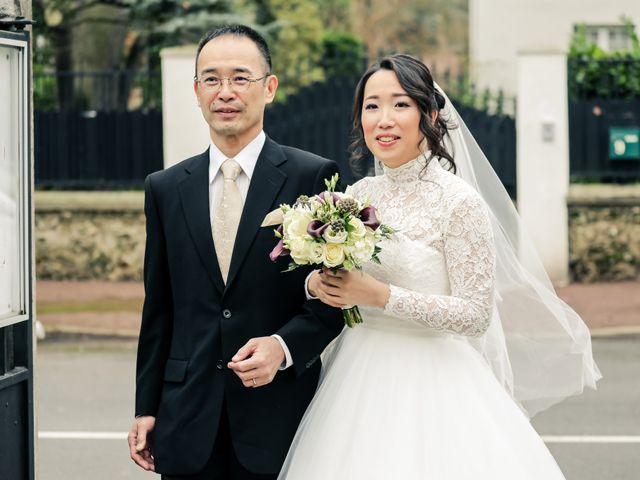 Le mariage de Farah et Taeko à Vaucresson, Hauts-de-Seine 22