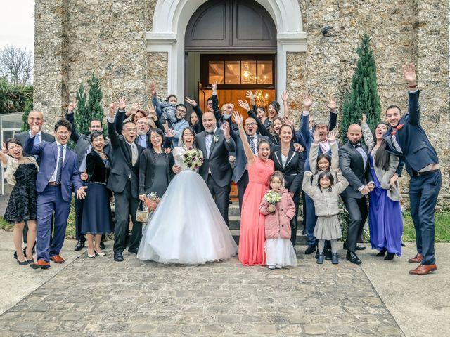 Le mariage de Farah et Taeko à Vaucresson, Hauts-de-Seine 84