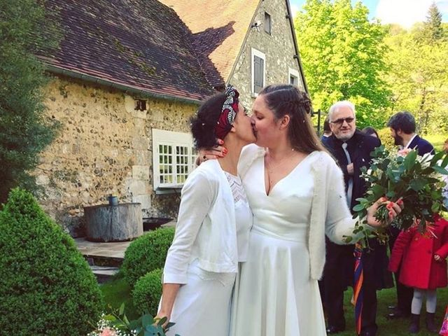 Le mariage de Chloe et Gaelle à Giverny, Eure 1