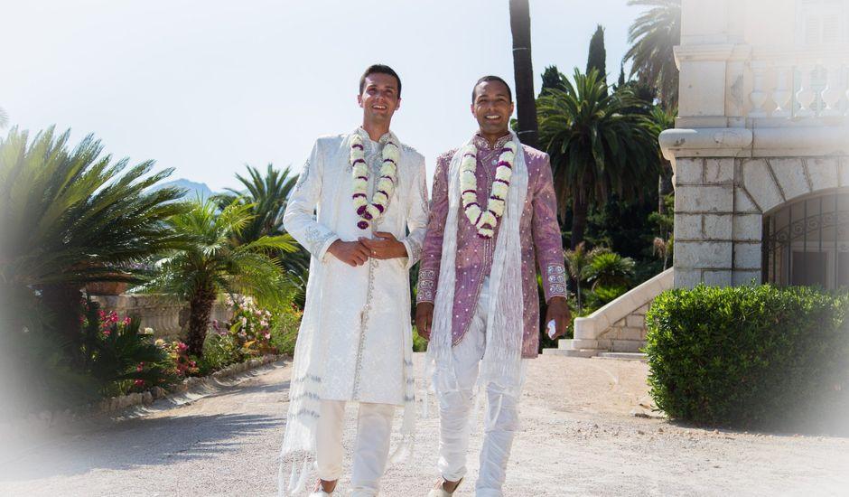 Le mariage de David et Chris à Menton, Alpes-Maritimes
