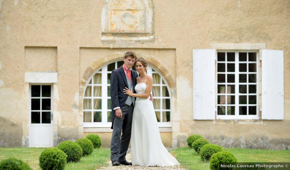 Le mariage de Jeff et Alexia à Neuvy-Saint-Sépulchre, Indre