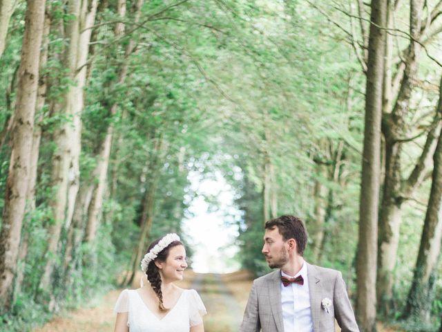 Le mariage de Sébastien et Alexandra à Guimaëc, Finistère 1