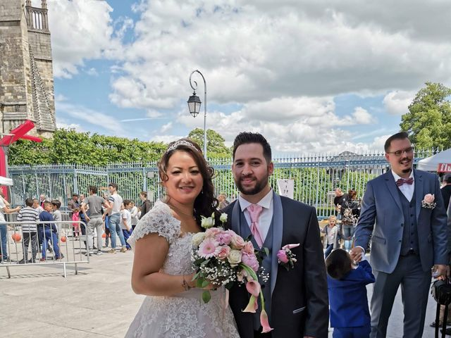 Le mariage de Julien et Hanna  à Bourges, Cher 9