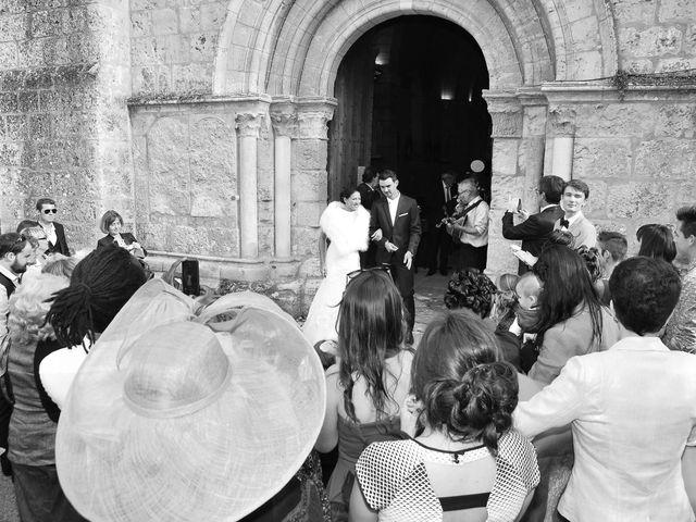 Le mariage de Lucien et Amélie à Lusignan, Vienne 13