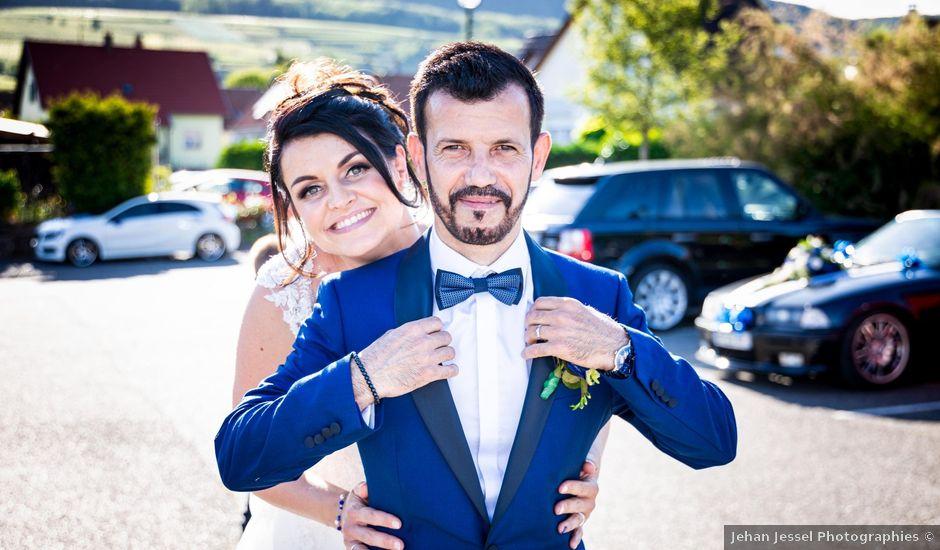 Le mariage de José et Sandra à Sundhoffen, Haut Rhin