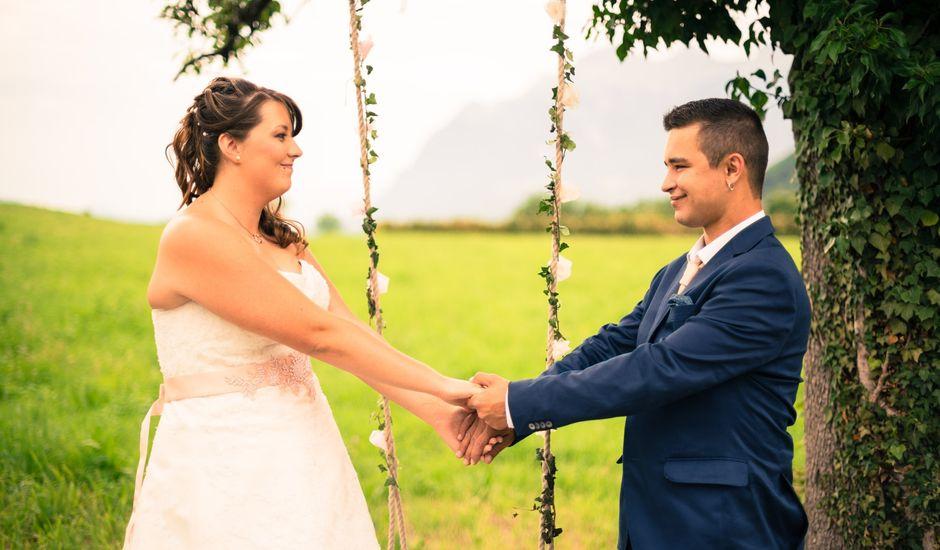 Le mariage de Joel et Cindy à Pallud, Savoie