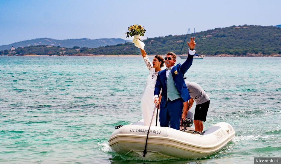 Le mariage de Pierre et Charlotte à Porto-Vecchio, Corse