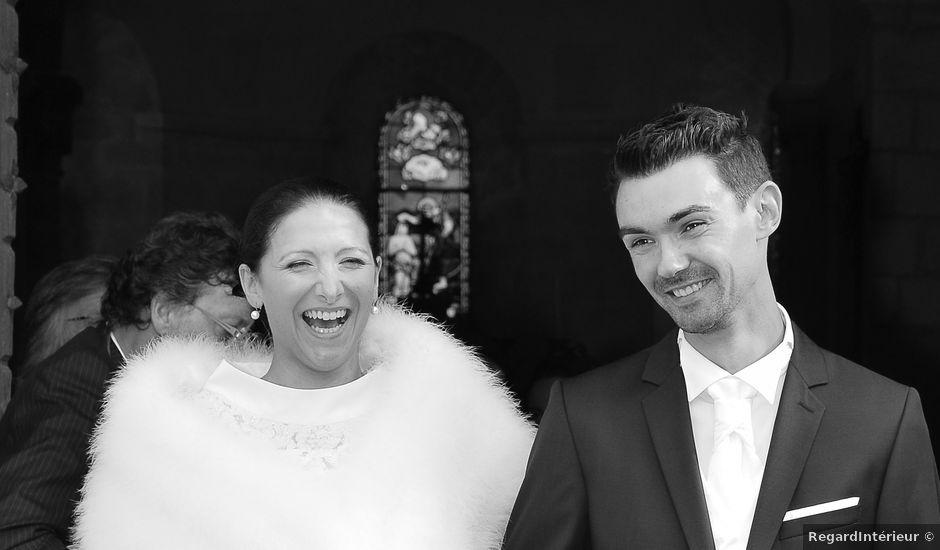 Le mariage de Lucien et Amélie à Lusignan, Vienne
